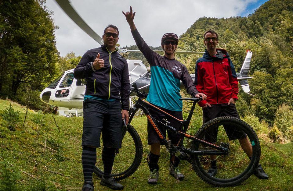 Moerangi Heli Bike Day