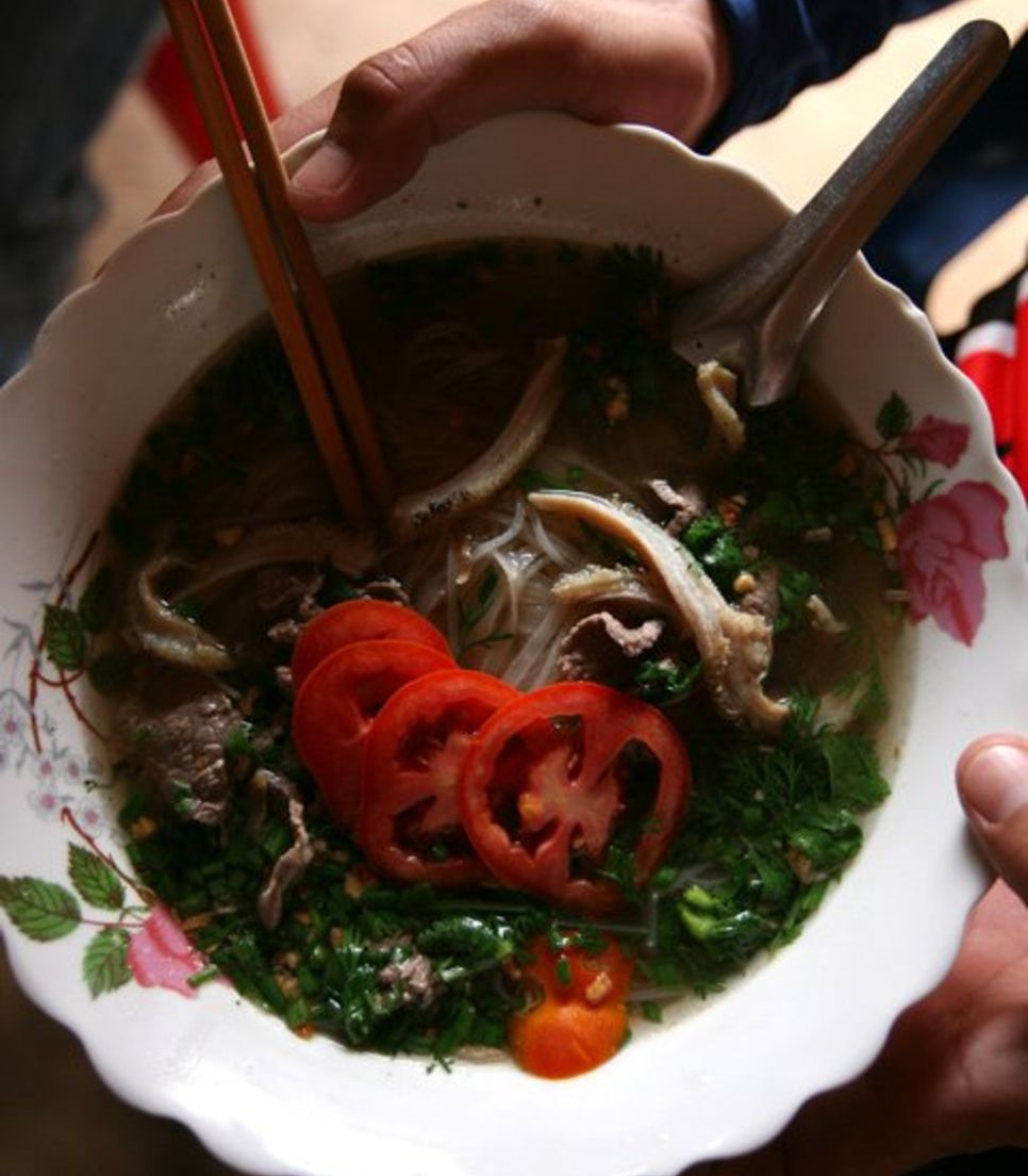 Savor the distinct taste of Vietnamese and Lao food