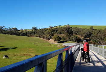 Four Gippsland Rail Trails