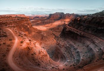 The White Rim Trail, Utah