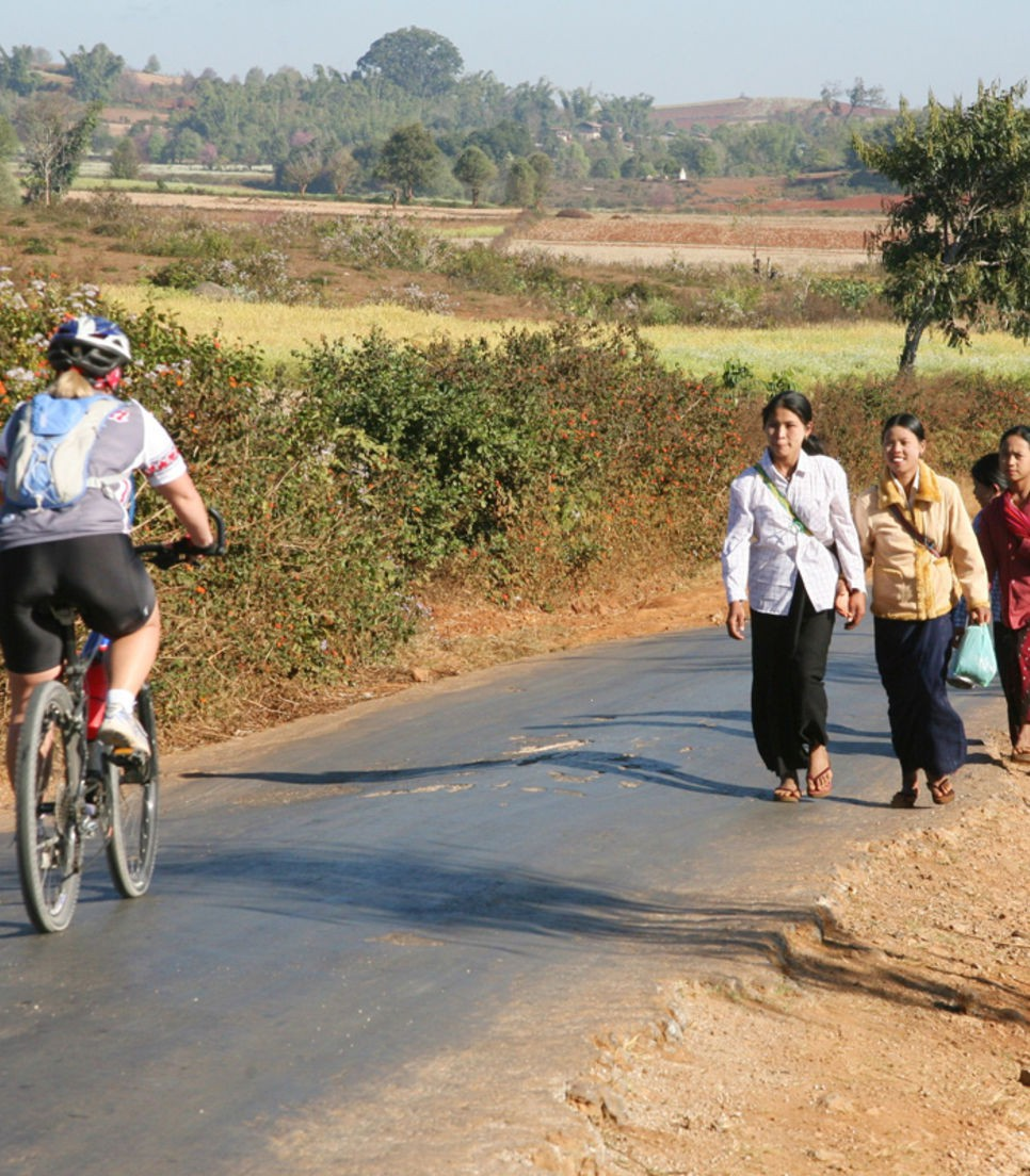 Cycle the back roads and see the real Myanmar