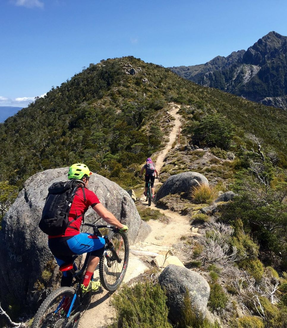 Take on the best of the South Island's mountain biking with expert guides and epic locales