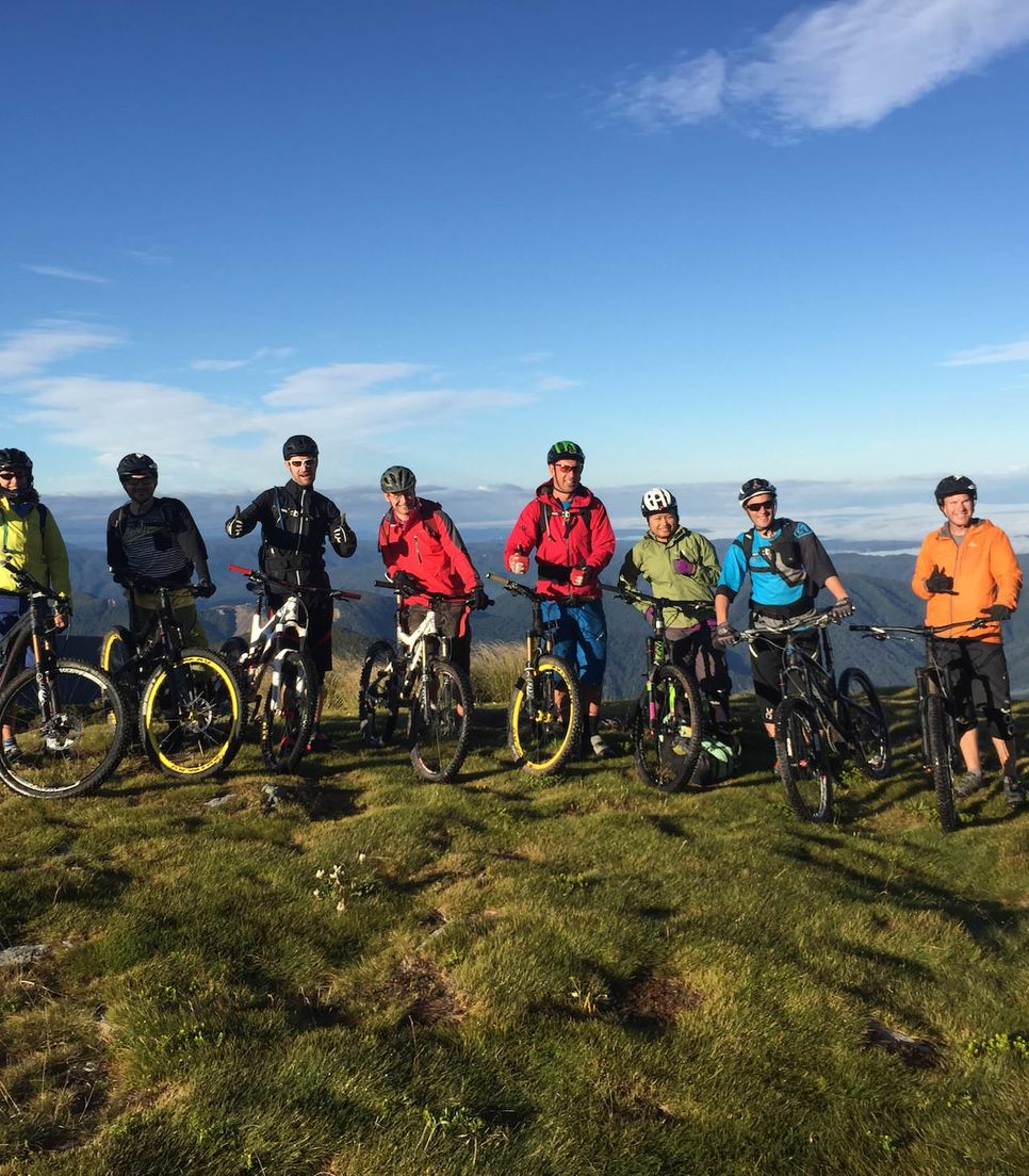 Spend the tour with other like-minded riders and have a ball