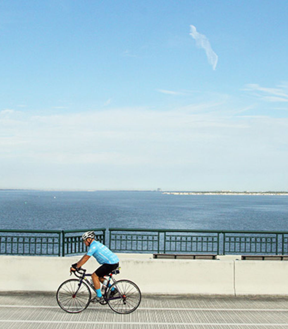 Explore the state of Florida by bike and enjoy a diverse itinerary