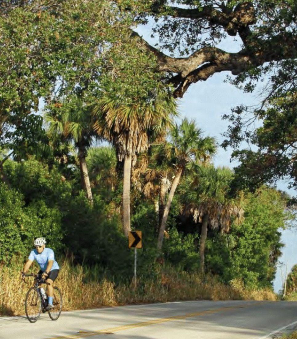 Bike Florida and enjoy sea and country views