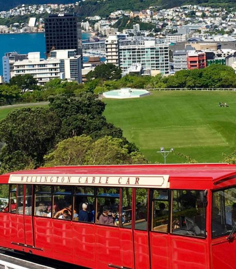 Get out and explore the wonderful city of Wellington at the start or end of the trip