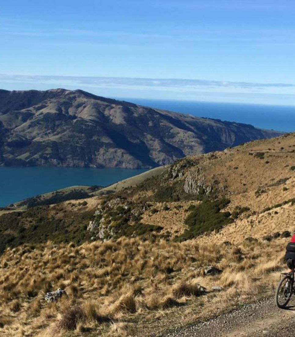 Explore the beautiful scenery of NZ by bike