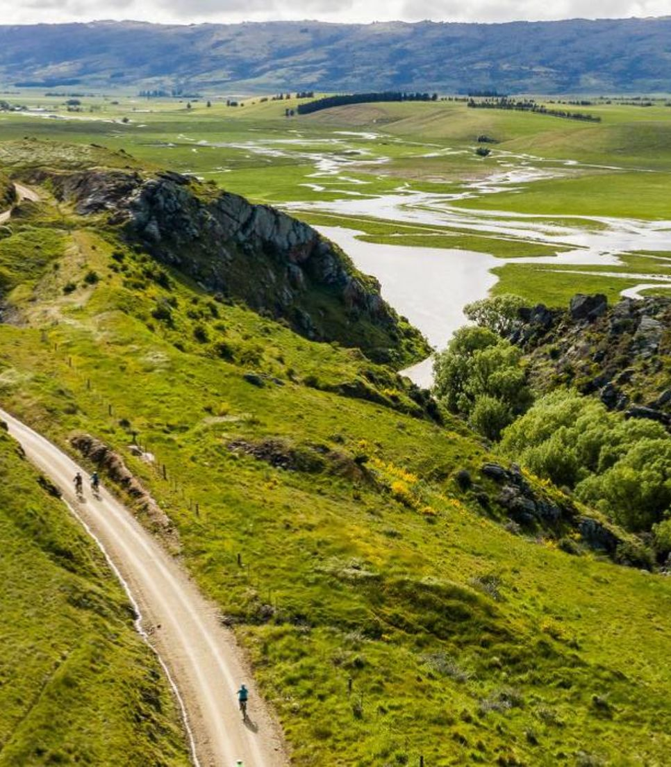 Journey through the South Island on gravel trails