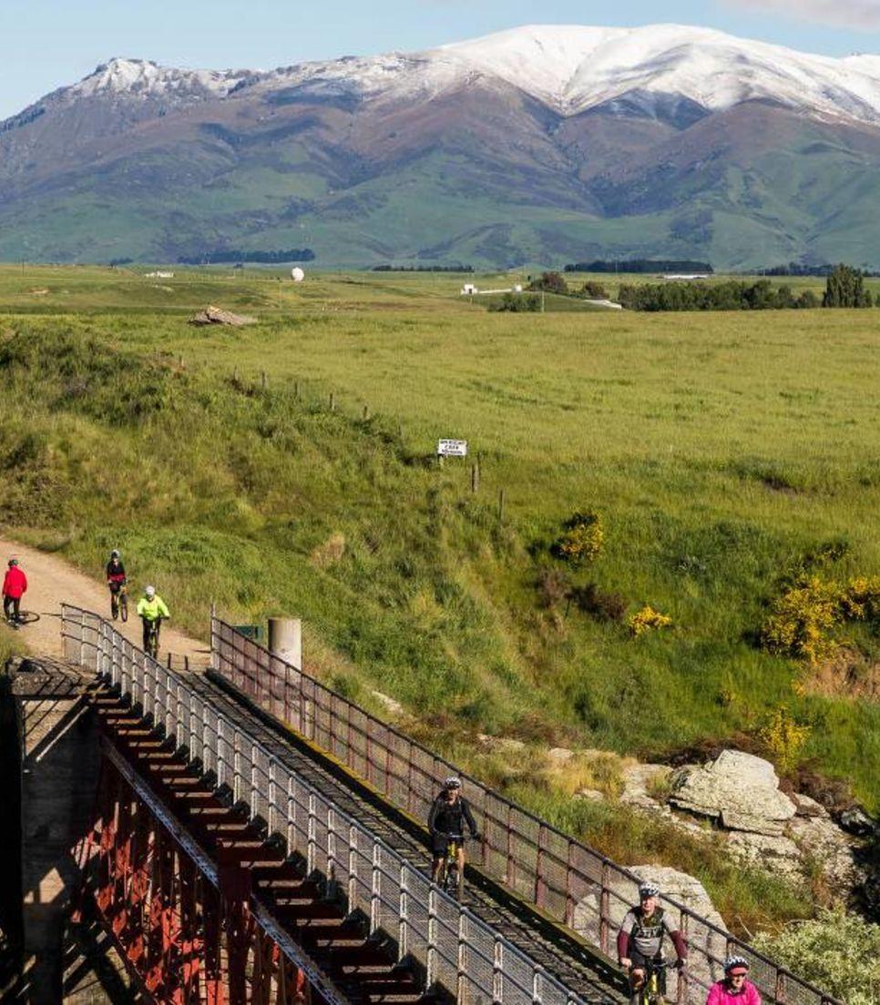 Bike a classic rails to trail route through Otago
