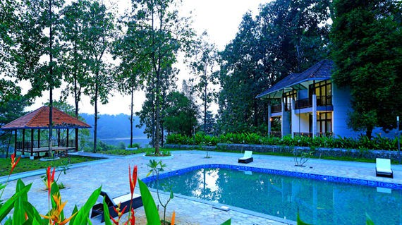 Relax and enjoy the tranquility of this lush riverside resort