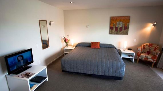 Wind down after an exciting day in the spacious and comfortable rooms of this property