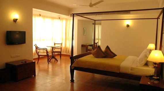 A boutique hotel located right in the heart of Fort Kochi