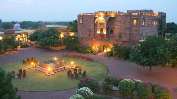 Relish your stay in another heritage hotel with gorgeous interiors and a welcoming pool