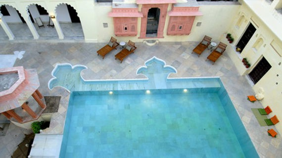 A charming heritage hotel where you'll spend two days to explore their gardens or take a dip in the pool.