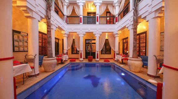 A trip to Morocco won't be complete without staying in a traditional riad