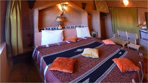 A classic riad with invitingly comfortable rooms, perfect after a day of cycling.