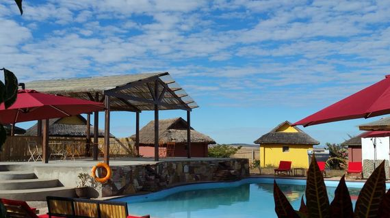 Bask under the blue skies or starry nights at this property on the foot of Isalo National Park