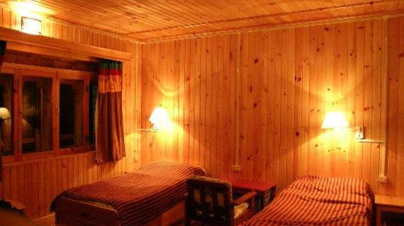 A comfortable accommodation with hints of Swiss and Bhutanese culture