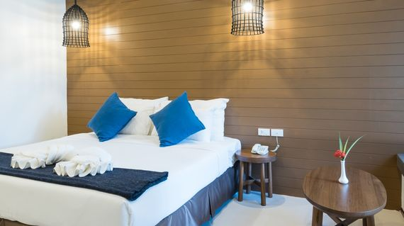 Set on a beach along the Gulf of Thailand is your pleasant accommodation with airy rooms and beach side outdoor pool.