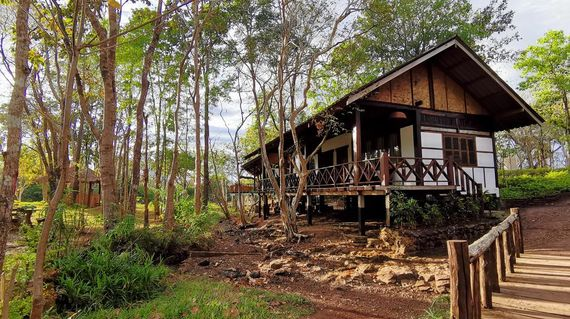 Enjoy your stay and natural surroundings as you spend a night in rustic accommodations