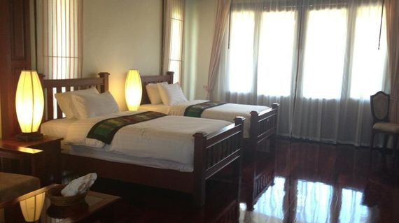 Spend your last day on tour in comfortable rooms at a hotel in the heart of Pakse.