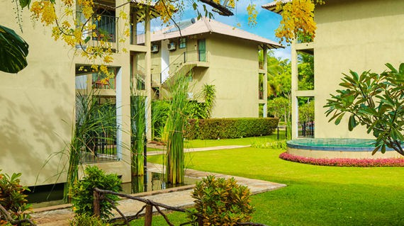 Set amidst tall trees and sprawling gardens, you'll feel relaxed after a day of adventure.