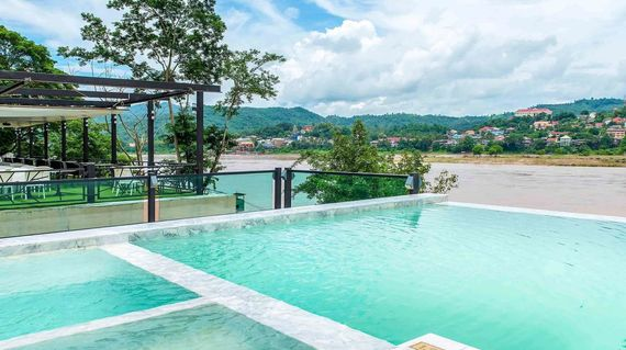 A modern hotel in Chiang Khong with a youthful vibe and splendid views of the Mekong River