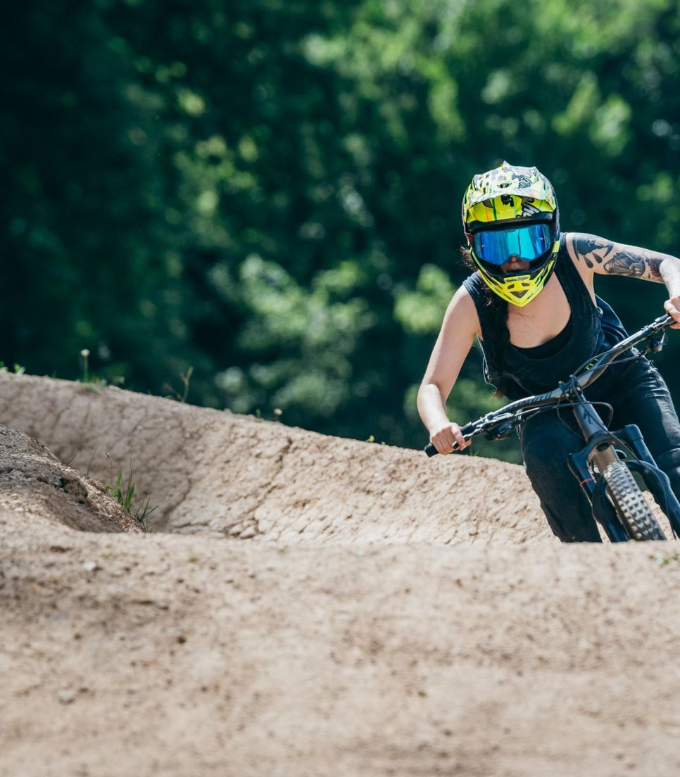 Spend your days biking some exceptional trails and improve your riding