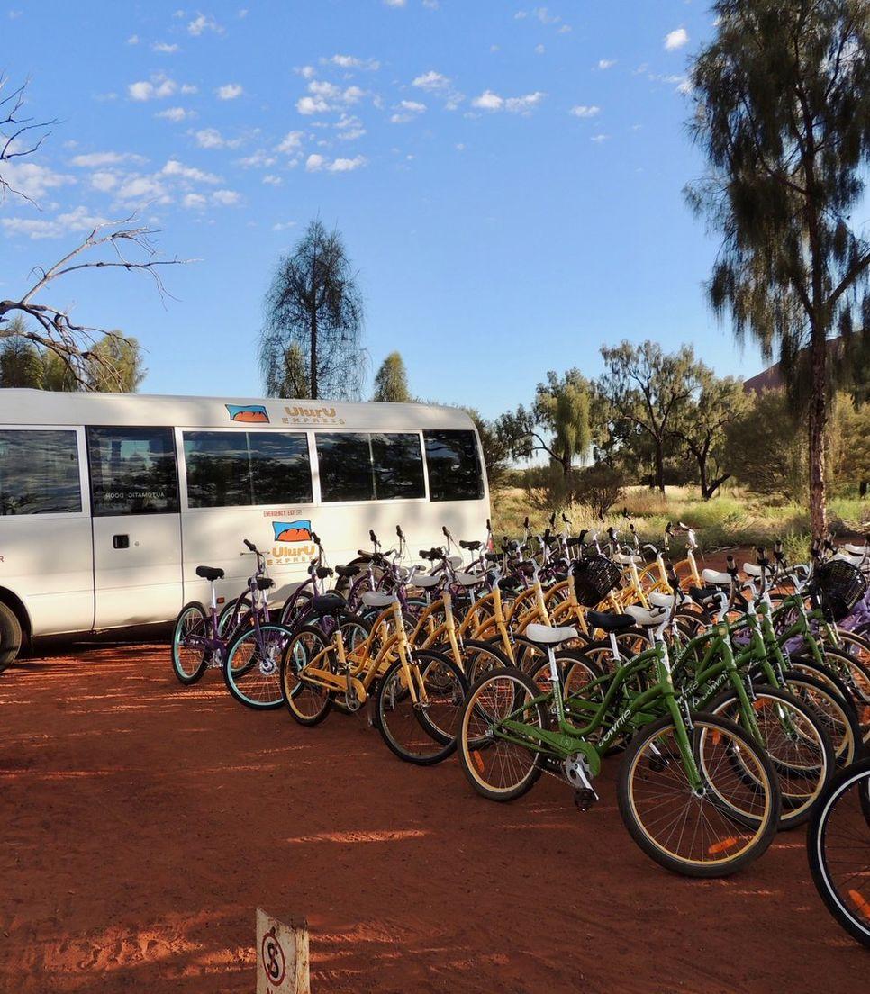 Discover Uluru by bike