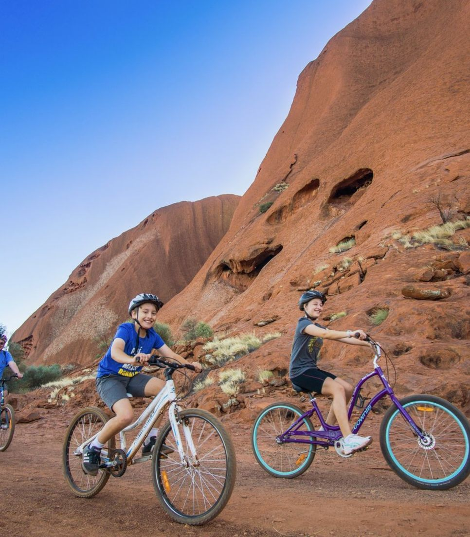 Make lasting memories as you explore this unique and beautiful spot by bike