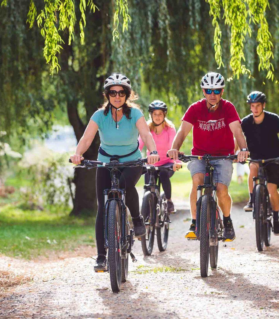 Pedal a delightfully enjoyable path
