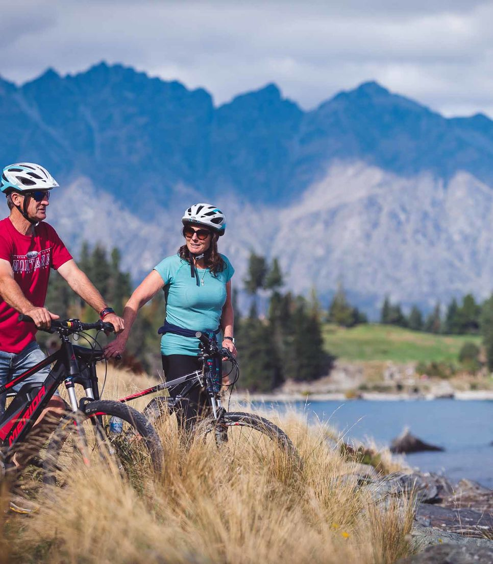 Discover the beautiful views of Queenstown