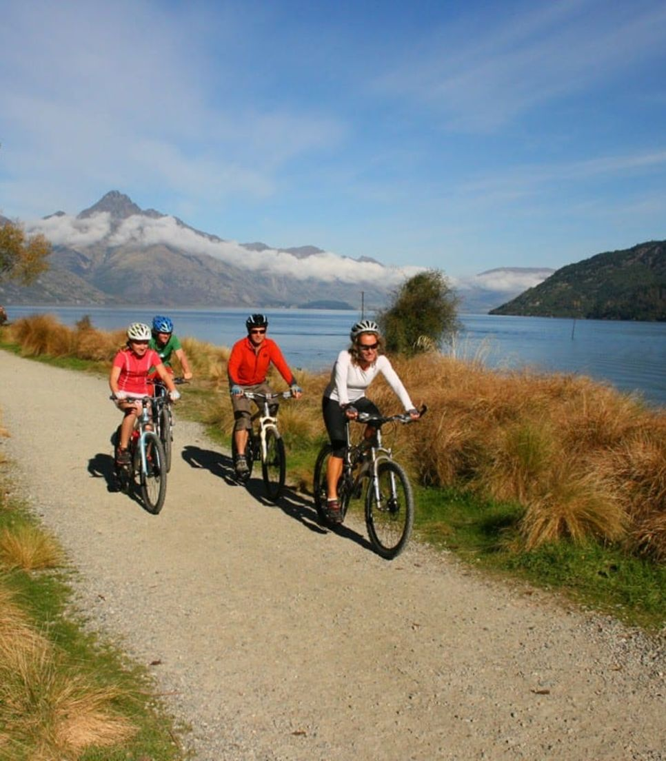 Bike around 3 diverse and beautiful parts of Queenstown