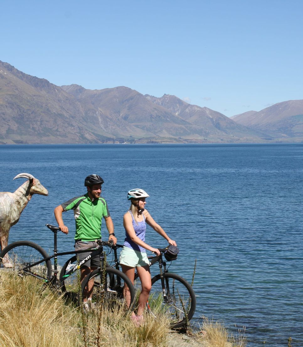 Head to the vibrant adventure capital and explore by bike